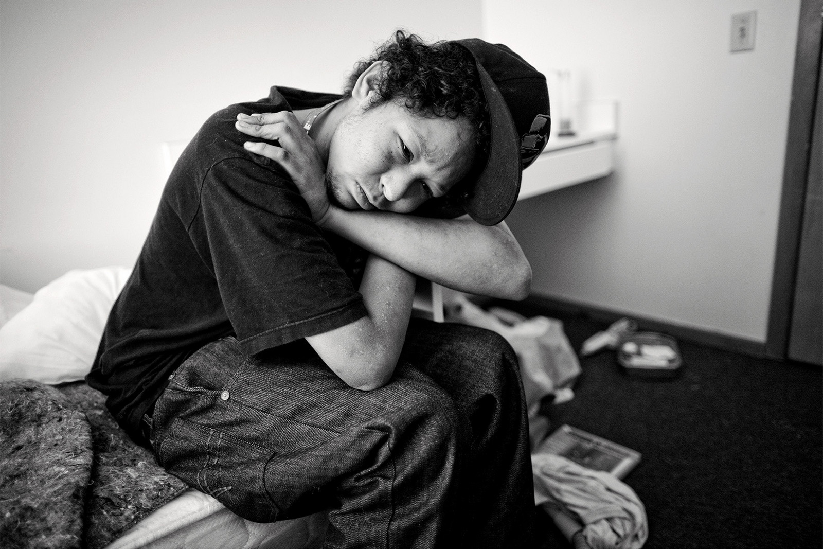 Homeless youth Seattle photojournalist Mike Kane editorial photographer
