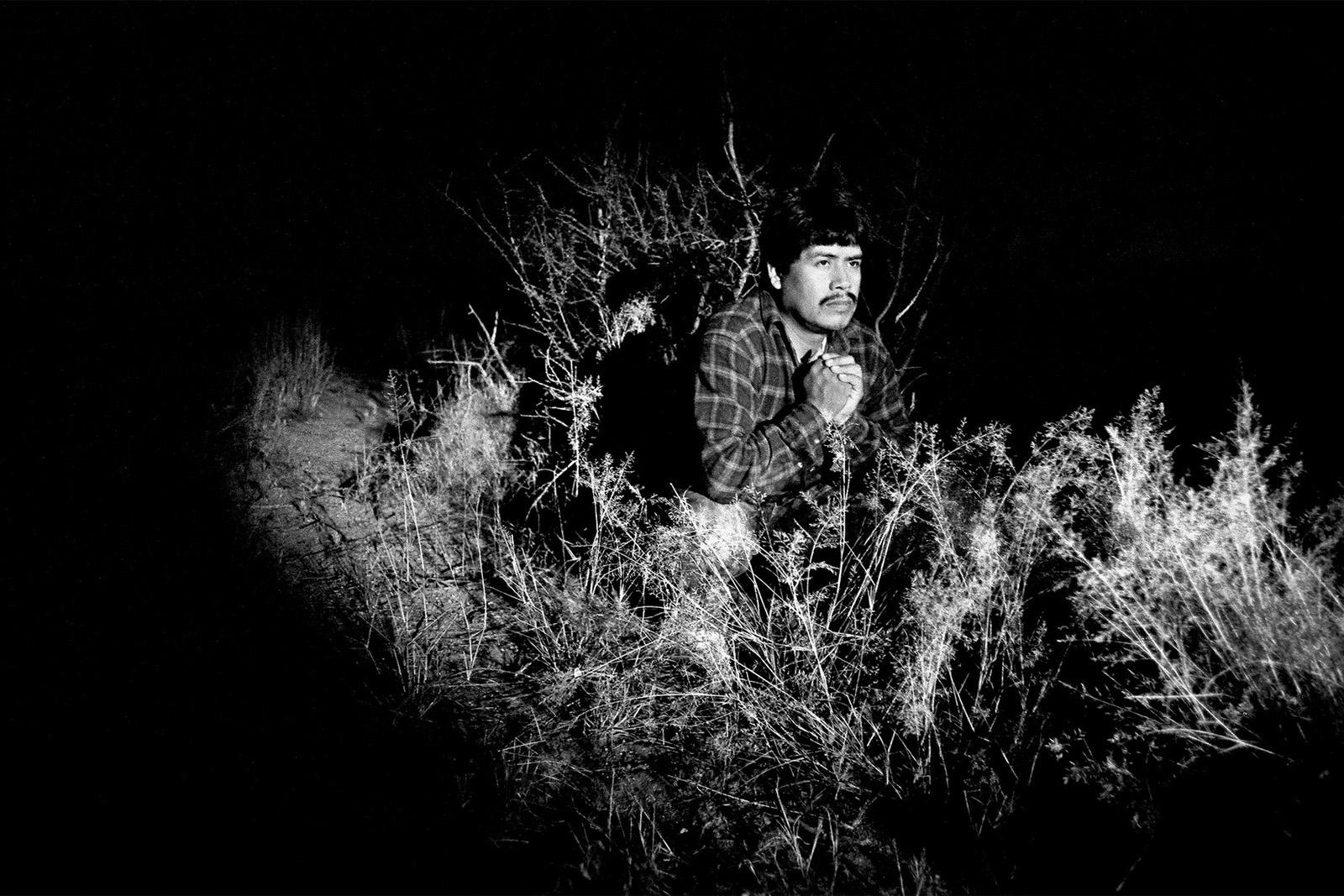 Right-wing vigilantes on US/Mexico border, by Seattle photojournalist Mike Kane editorial photographer