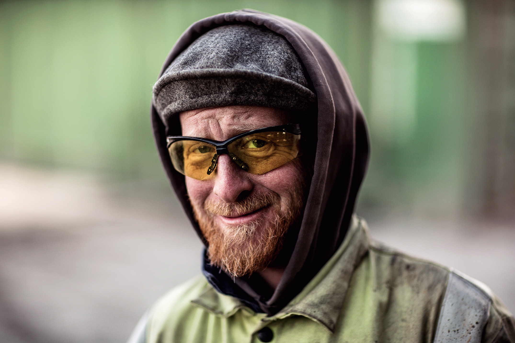 Mike Kane | Landfill worker in Eastern Washington | Seattle documentary, editorial, and commercial photography